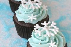 CUP-blu snowflake C-Cake