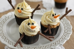 CUP-snowman-cupcakes
