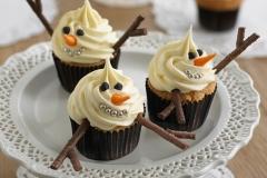 CUP-snowman-cupcakes