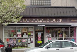 The Chocolate Duck storefront
