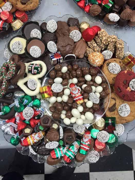 Christmas Chocolate Platter