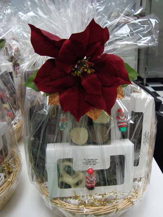 Christmas Chocolate Basket