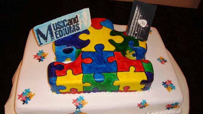 Music and Mediums cake