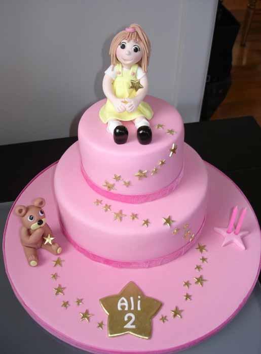 Child's 2nd birthday cake