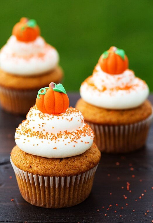 Cinnamon Pumpkin Cupcake
