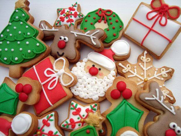 Christmas Frosted Cookies