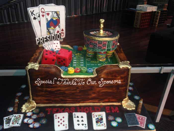 Gambling Theme Cake