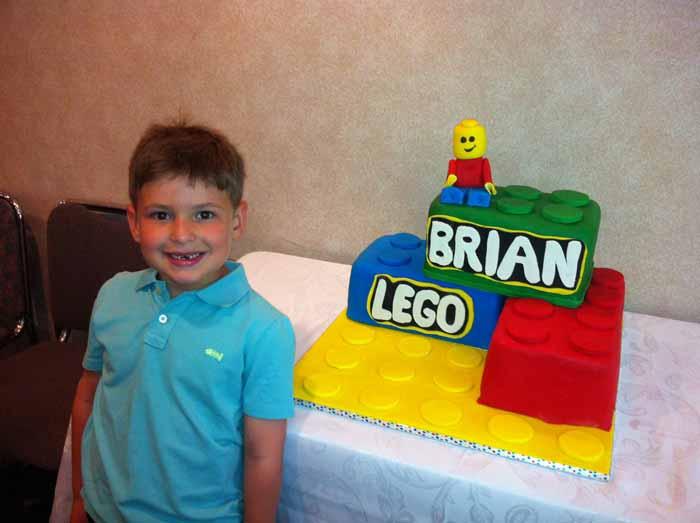 blocks cake
