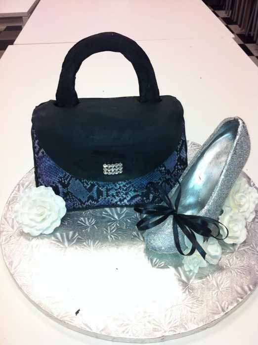 Clutch and shoe cake