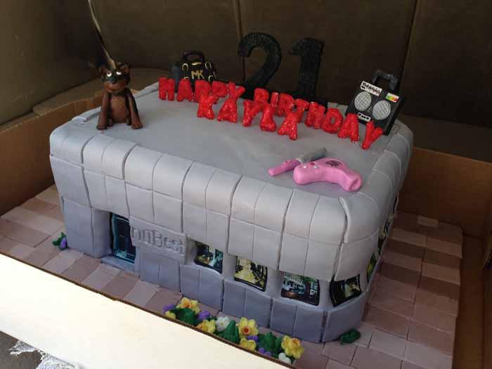 Dog Groomer cake