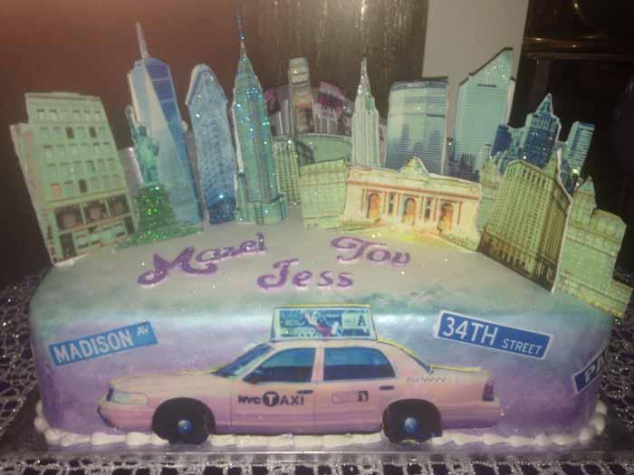Mazel Tov New York Cake