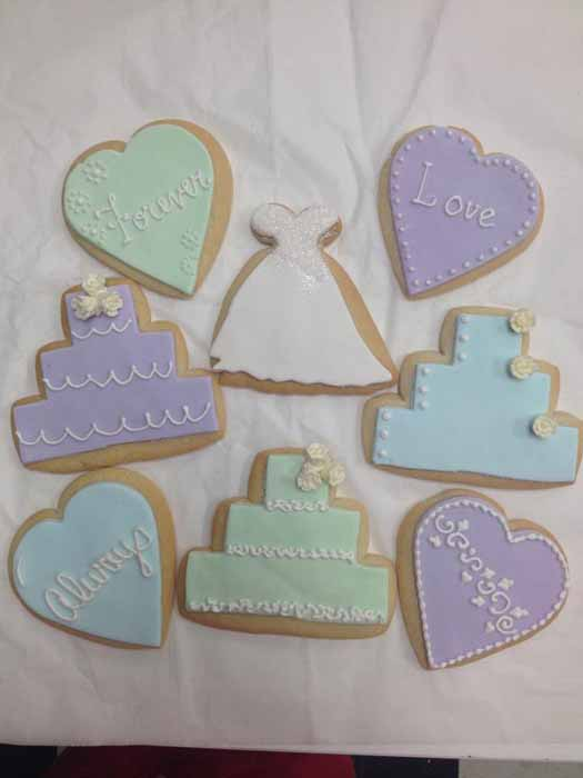 Wedding/Bridal Shower Cookies