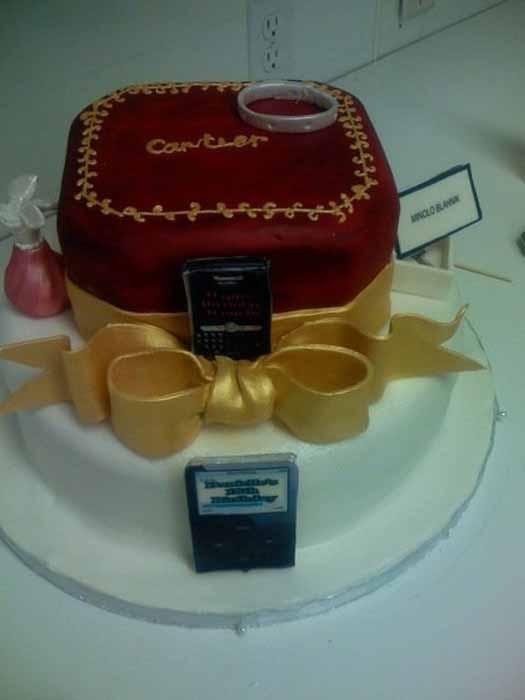 Jewelry Cake