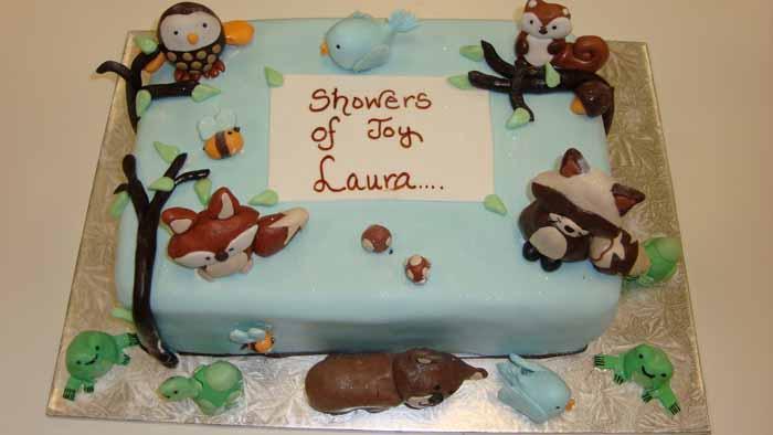 Nature Animals Cake