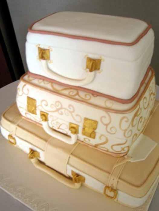 Suitcases Cakes