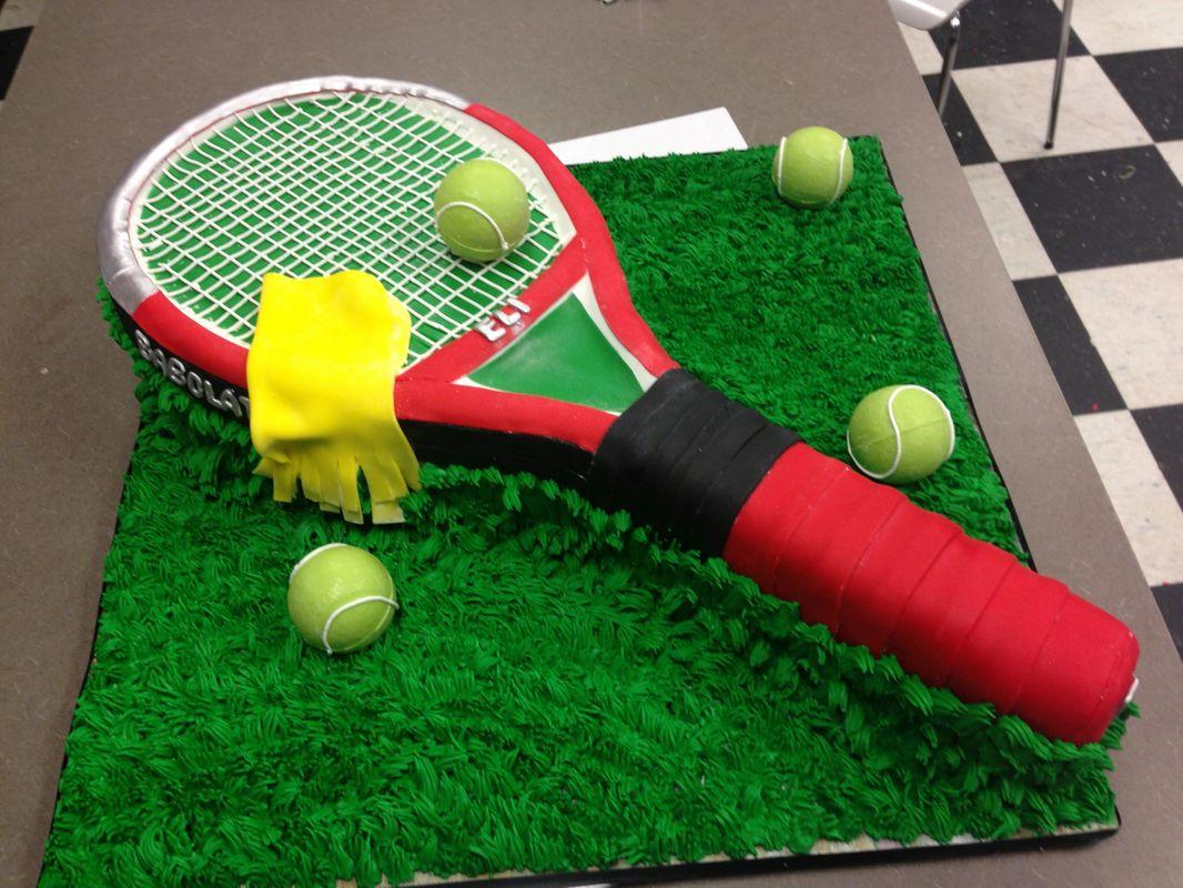 Tennis Custom Cake