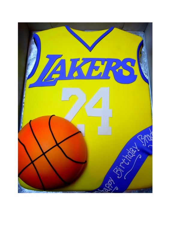 Basketball Jersey Custom Cake