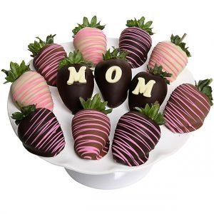 Chocolate Dipped MOM Strawberries