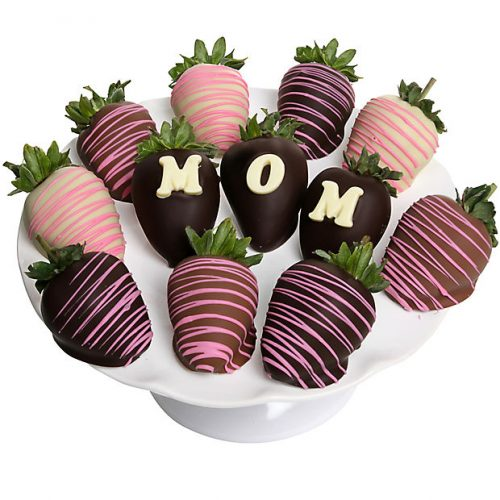 Chocolate Dipped MOM Strawberries