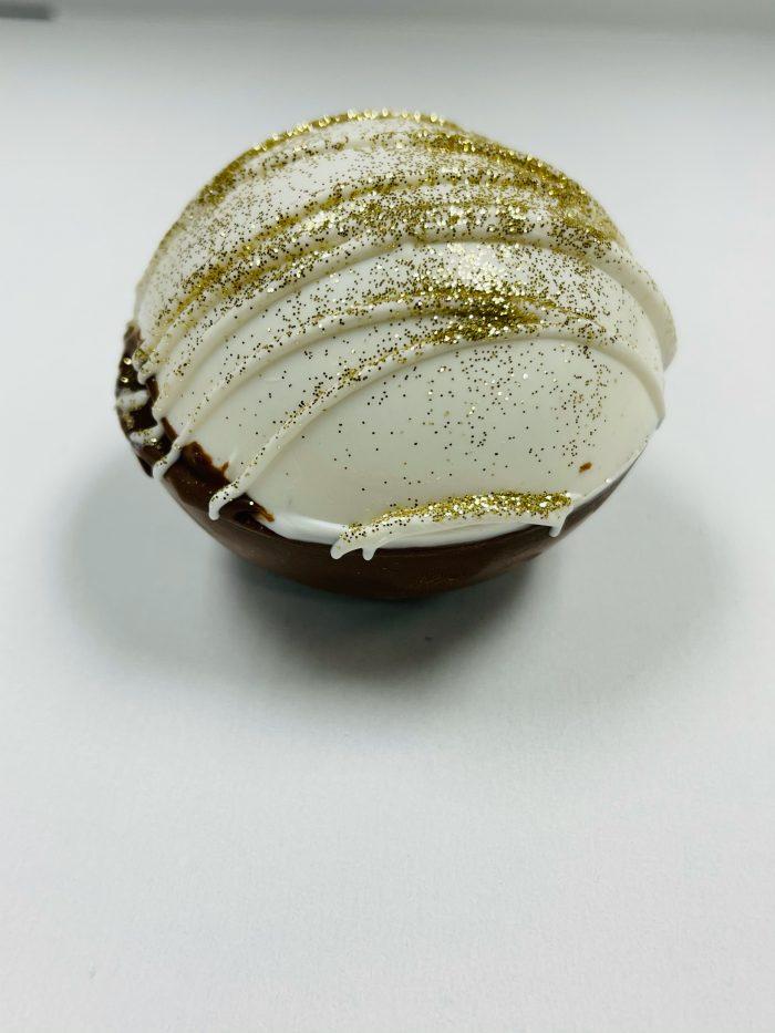 New Year's Themed Cocoa Bomb