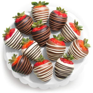 12-count Valentine's Chocolate Dipped Strawberries