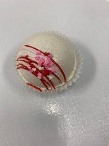 White Valentine's Cocoa Bomb